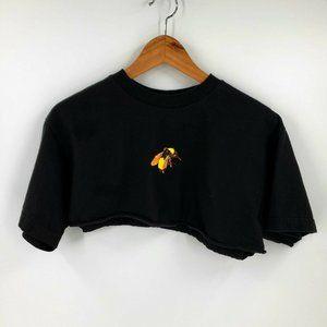 Golf Wang Save The Bee's Crop T-Shirt Black sz M